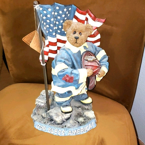 """Boyds Crumpletons """"Our American Hero"""" 13x7"""""""